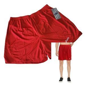 Asics Mens Red Fitness Running Shorts